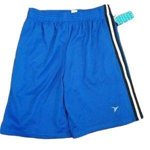 NWT Old Navy Mesh Blue Athletic Shorts Stripe